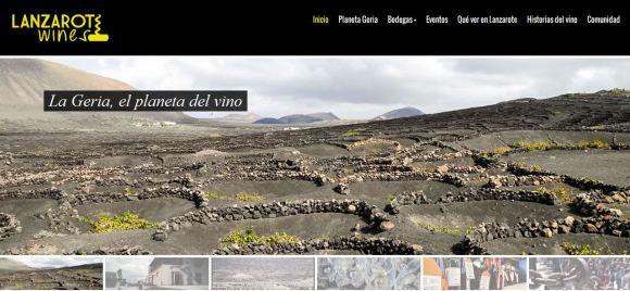 Lanzarote Wines, el portal de información sobre el vino de Lanzarote