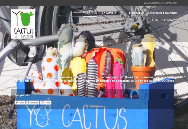 Captura web Yo Cactus